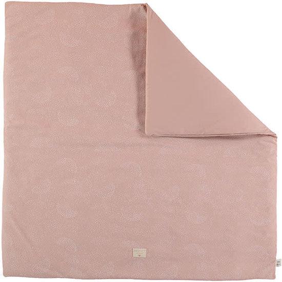 Nobodinoz tipi en accessoires Nobodinoz Spielteppich Colorado - Elements - White Bubble-Misty Pink
