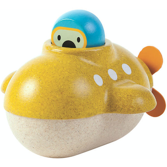 Plan Toys Bath toy - submarine - Plan Toys +1 yr