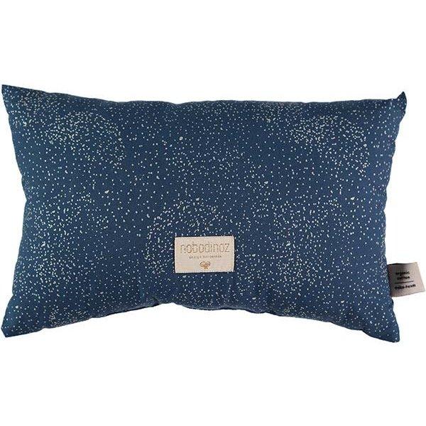 f344a8452e0c4a Nobodinoz tipi en accessoires Nobodinoz kussen Laurel - Elements - Gold  Bubble - Night Blue