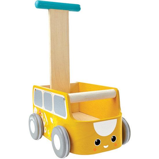 Plan Toys Baby Walker - Van Walker - Yellow - Plan Toys +10M