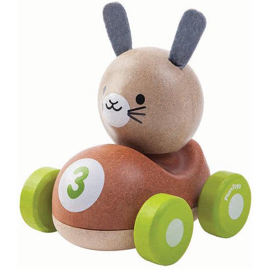Plan Toys Spielzeugauto - Hase Racer - Plan Toys +1 Jahr