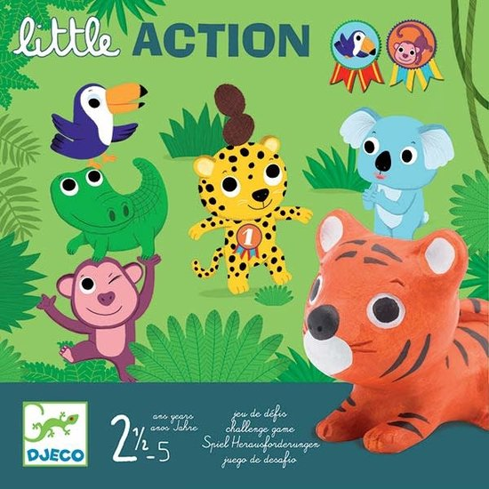 Djeco Djeco - family game - card game - Little Action +2.5 yrs