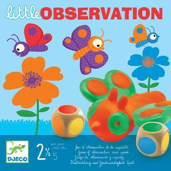 Djeco Djeco - family game Little Observation +2.5 yrs