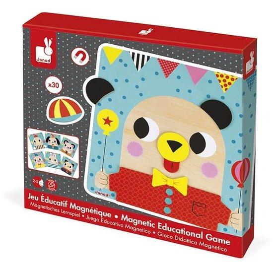 Janod speelgoed Janod - Magnetspiel - Tiere +2 Jahre