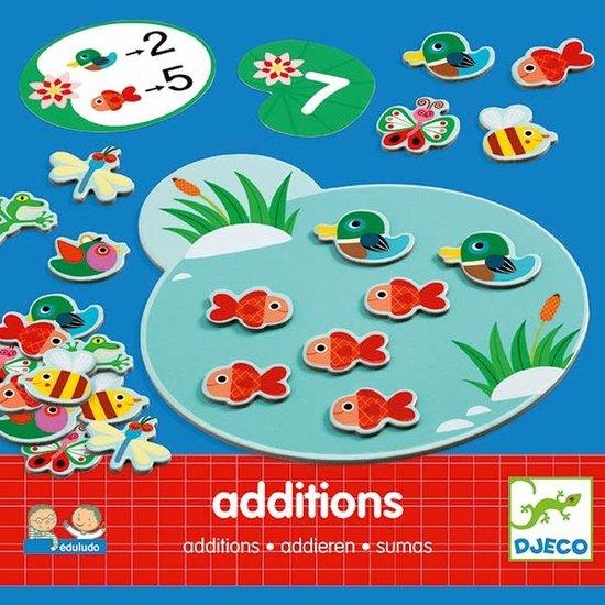 Djeco Djeco - bordspel - rekenspel - Eduludo - Additions - 4-8 jr