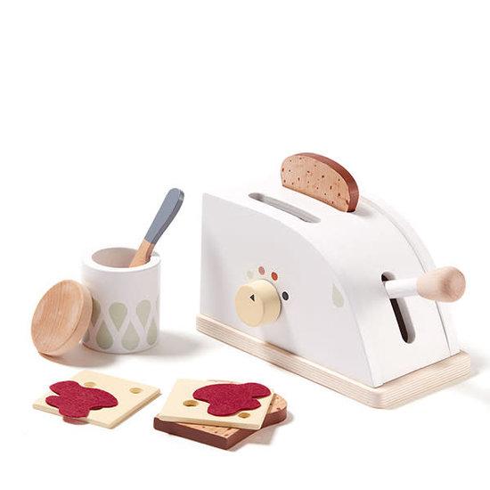 Kid's Concept Kids Concept - speelgoed broodrooster - toaster Bistro +3jr