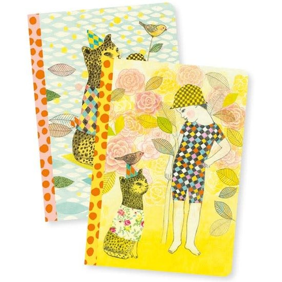 Djeco Djeco - Notebooks Elodie - set of 2