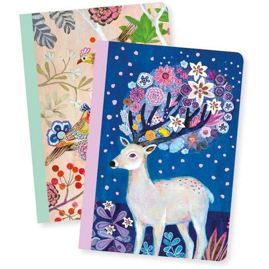 Djeco Djeco - notitieboekjes - 2 notebooks Martyna