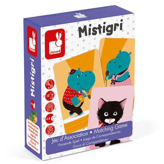 Janod speelgoed Associatiespel - Mistigri - zwarte pieten spel - Janod +4jr