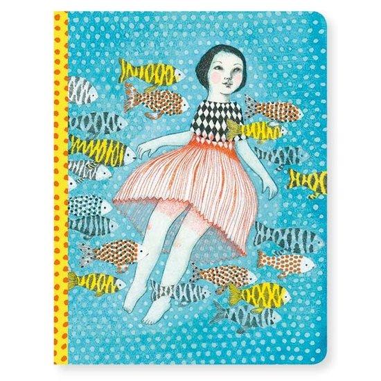 Djeco Notizbuch - Notebook Elodie - A5 - Djeco