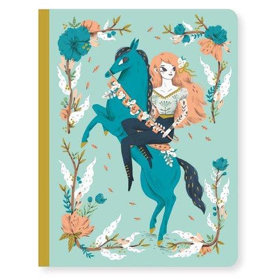 Djeco Notizbuch - Notebook Lucille - A5 - Djeco
