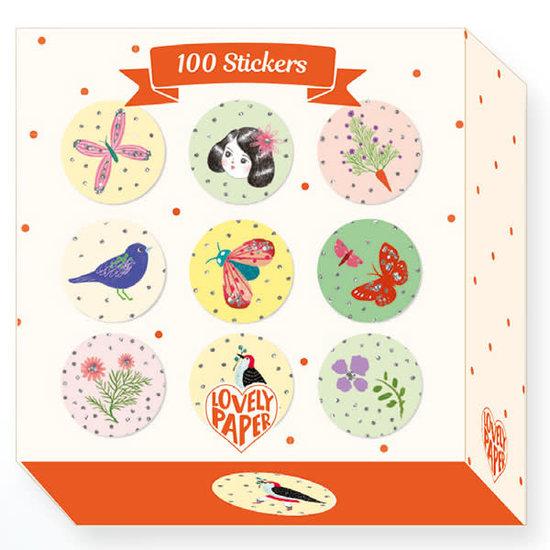 Djeco Djeco - stickers Chichi - 100 stuks