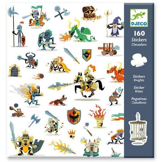 Djeco Djeco stickers Ridders 160 stuks