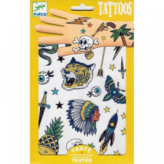 Djeco Djeco - tattoos Bang Bang - metallic +3jr