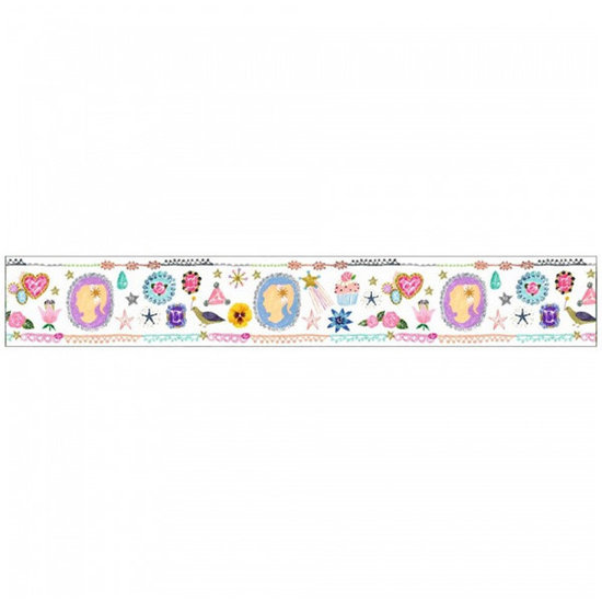 Djeco Djeco - Washi tape - Masking tape Aiko - plakband - 2.5cm x 10m
