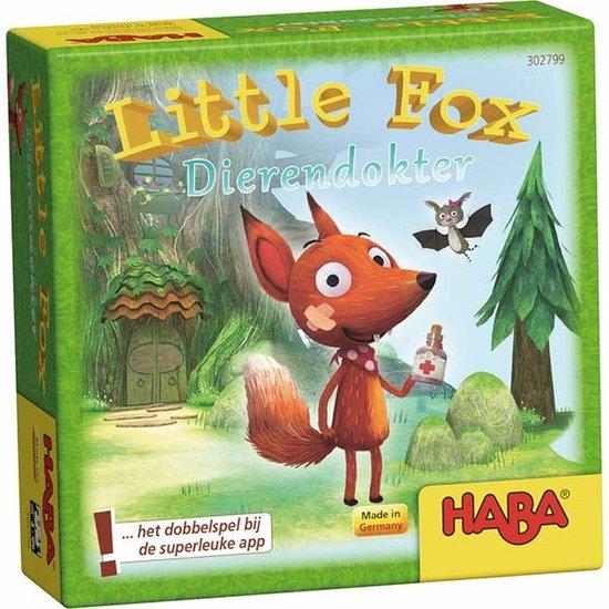 Haba Dobbelspel - Little Fox Dierendokter - Haba +4jr