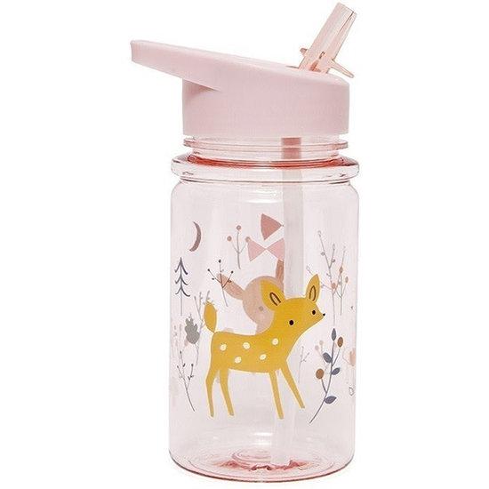 Petit Monkey Drinkbus - Forest Friends - perzik roze - Petit Monkey