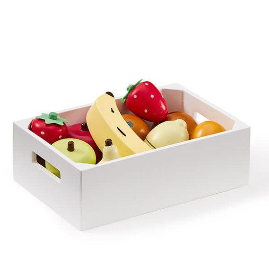 Kid's Concept Fruitkistje mix - speelgoed fruit - Kids Concept