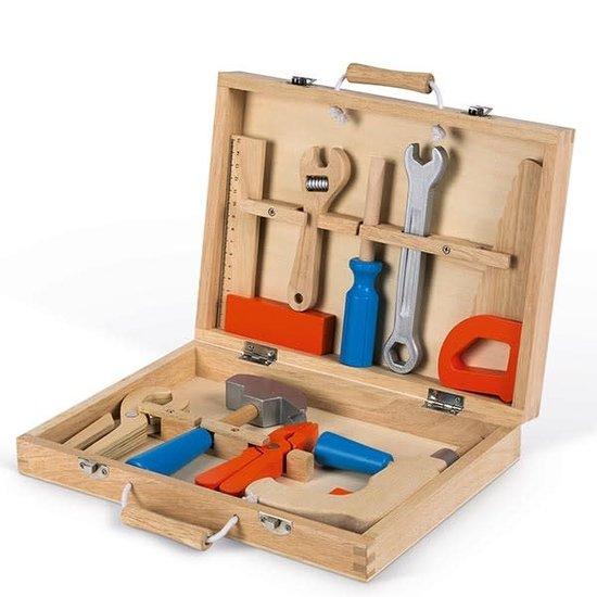 Janod speelgoed Gereedschapskist - Brico Kids - Janod +3 jr