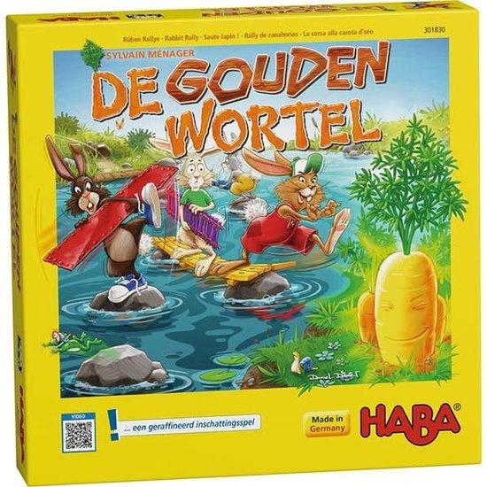 Haba Gezelschapsspel - De gouden wortel - Haba +4jr