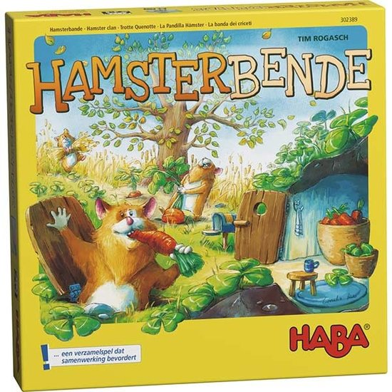 Haba Party game - Hamster clan - Haba +8 years