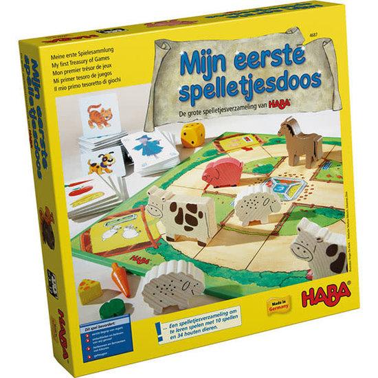 Haba Gezelschapsspellen - Mijn eerste spelletjesdoos - Haba +3jr