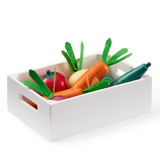 Kid's Concept Groentenkistje mix - speelgoed groenten - Kids Concept