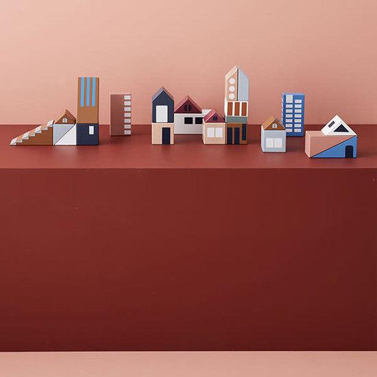 Kid's Concept Bausteine - Stadt Aiden - Kids Concept +12M