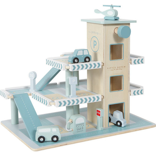 Little Dutch Toy garage - Adventure - Little Dutch +3 yrs