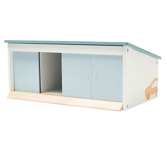 Kid's Concept Wooden garage box - Aiden - Kids Concept +2 yrs