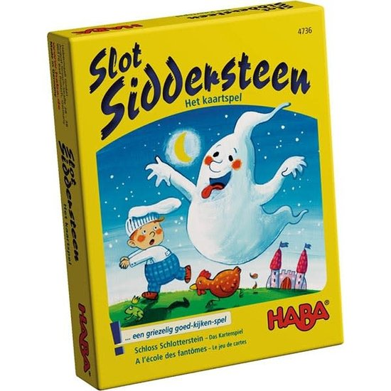 Haba Kaartspel - Slot Siddersteen - Haba +4jr
