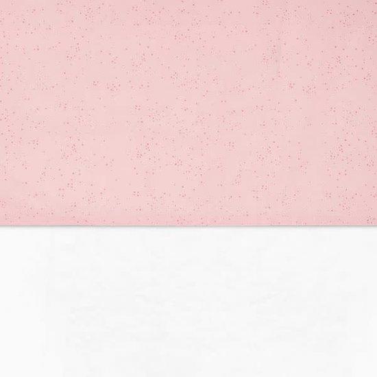 Jollein Laken 75 x 100 cm - Mini dots blush pink - Jollein