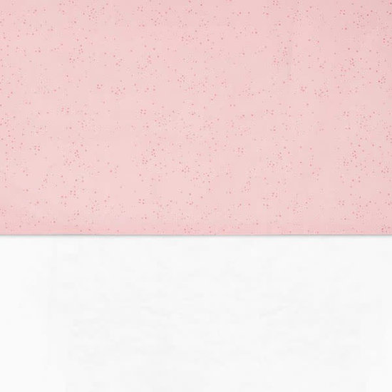 Jollein Sheet 75 x 100 cm - Mini dots blush pink - Jollein