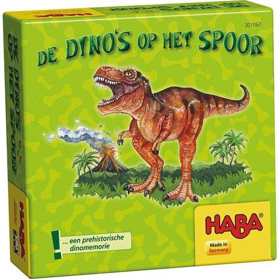 Haba Memory spel - De dino's op het spoor - Haba +5jr