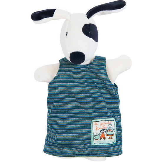 Moulin Roty Moulin Roty - La Grande Famille - hand puppet dog Julius