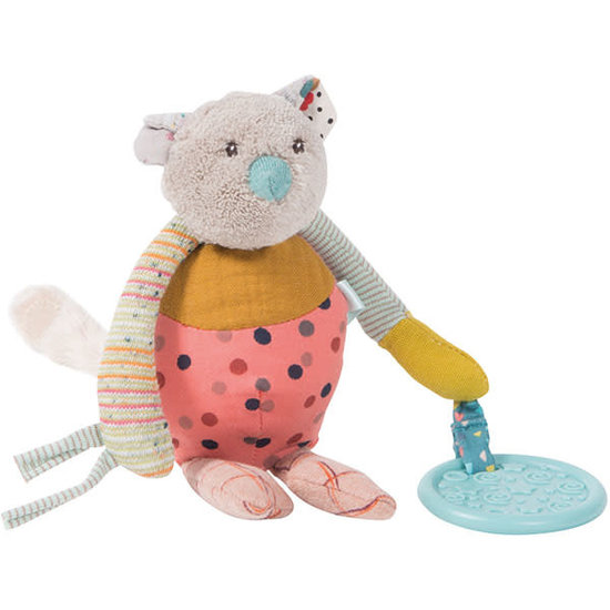 Moulin Roty Moulin Roty - Les Jolis trop Beaux - soft toy rattle mouse