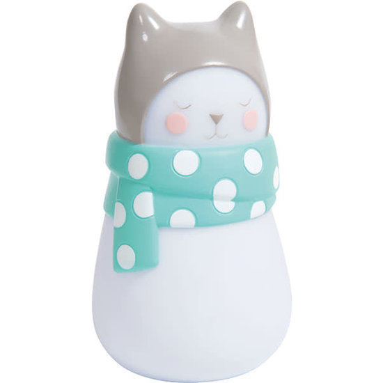 Moulin Roty Moulin Roty - Les Petits Dodos - night light cat