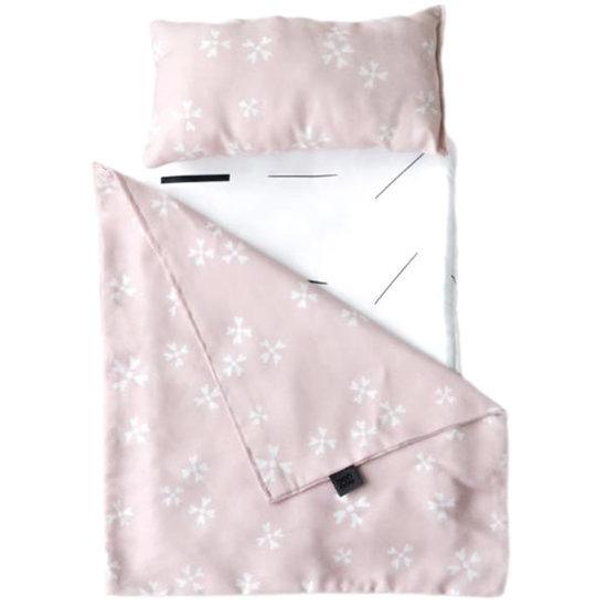 Ooh Noo Ooh Noo - poppenwagen bedtextiel - Blushing Blossoms