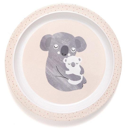 Petit Monkey Petit Monkey - melamine bord - koala - rand