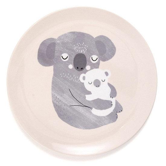 Petit Monkey Petit Monkey - melamin Teller - Koala
