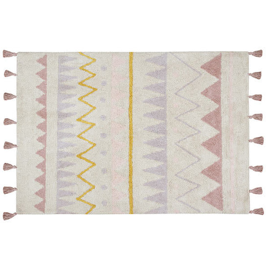 Lorena Canals Lorena Canals - Teppich - Azteca Natural - Vintage Nude - Small