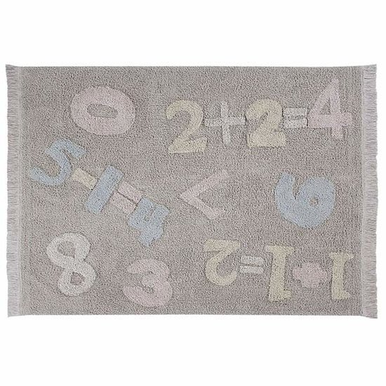 Lorena Canals Lorena Canals - Teppich - Baby Numbers - Back to school