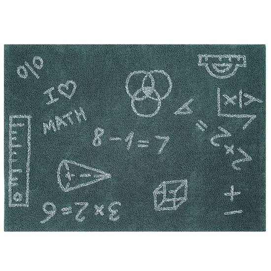 Lorena Canals Tapijt - Back to school - I love math - Lorena Canals