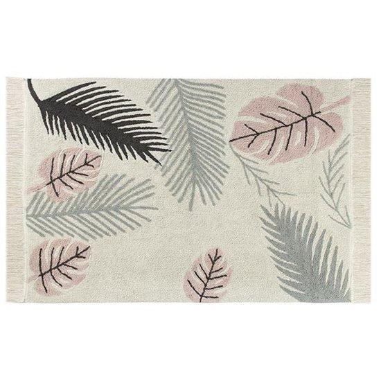 Lorena Canals Tapijt - Plants - Tropical pink - Lorena Canals
