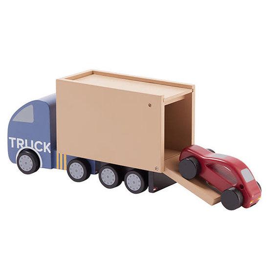 Kid's Concept Truck Aiden - speelgoed vrachtwagen - Kids Concept +12M