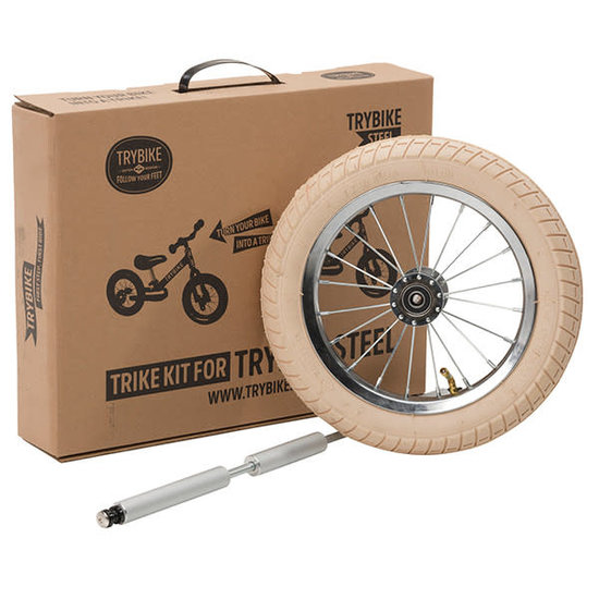 Trybike Loopfietsen Trybike Steel Trikekit Radverlängerungsset Vintage