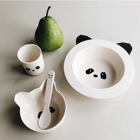 Liewood Bamboo baby set - Barbara - Panda creme de la creme - Liewood