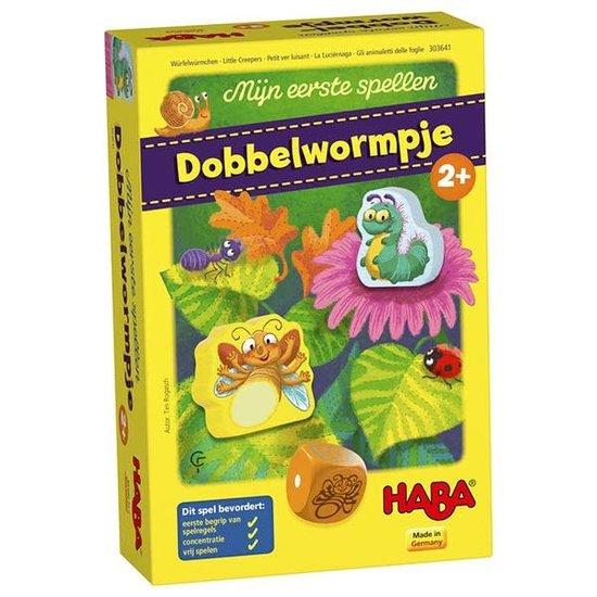 Haba Dobbelspel - Dobbelwormpje - Haba +2jr