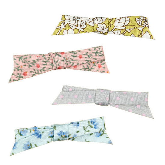 Mimi and Lula Haarspelden - Betty floral bow clips - Mimi and Lula - 4st