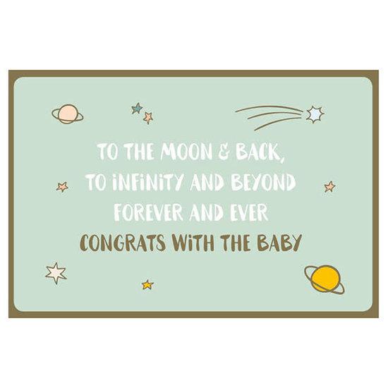 Enfant Terrible Kaart - Congrats on the baby - Enfant Terrible